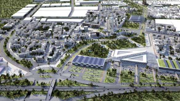 Gestion de crises pour un programme d'aménagement d'une éco-cité au Maroc